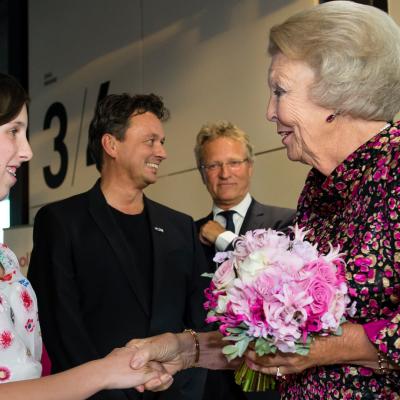 Prinses Beatrix opnieuw aanwezig bij Free To Move