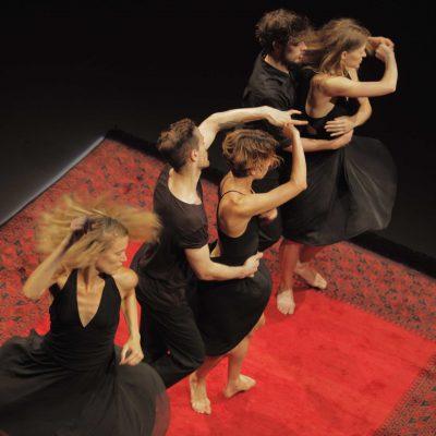´A special line-up with remarkable works by three master choreographers'   Mats Ek, Emanuel Gat, Jiří Kylián