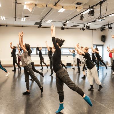 Dans mee tijdens het Holland Dance Festival 2018!