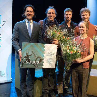 BNG Bank Dansprijs uitgereikt tijdens Holland Dance Festival