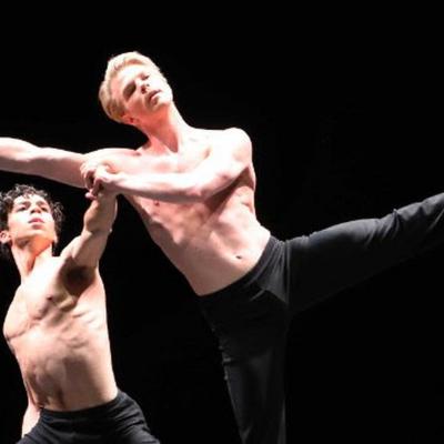 Samuel Wuersten (artistiek directeur Holland Dance Festival) in jury Benois de la Danse