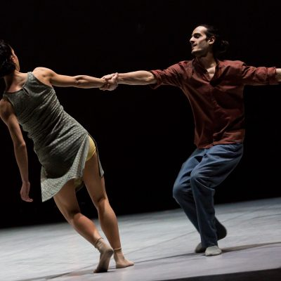 'I was struck by the hunger, enthusiasm and openness of the dancers' – Johan Inger, Aterballetto